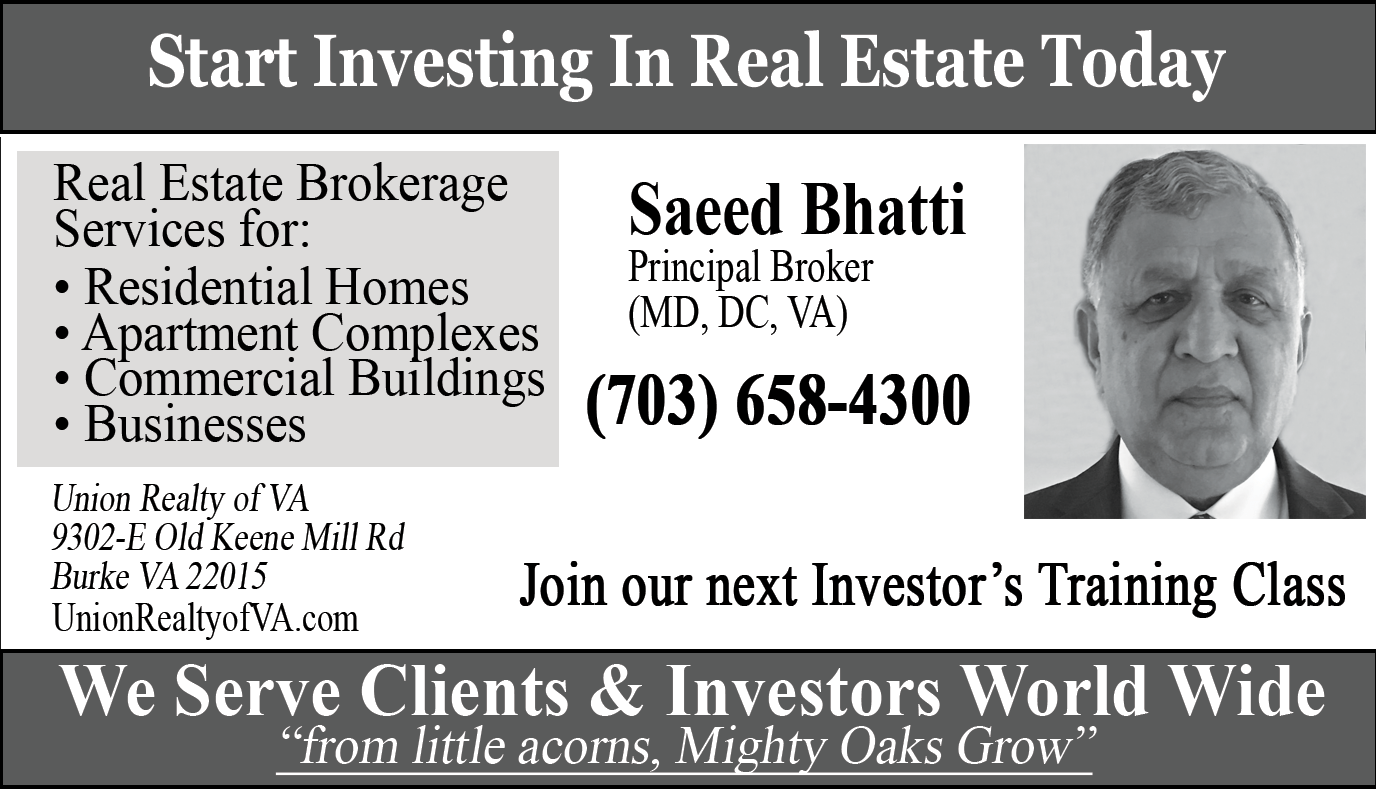 Saeed Bhatti – Real Estate